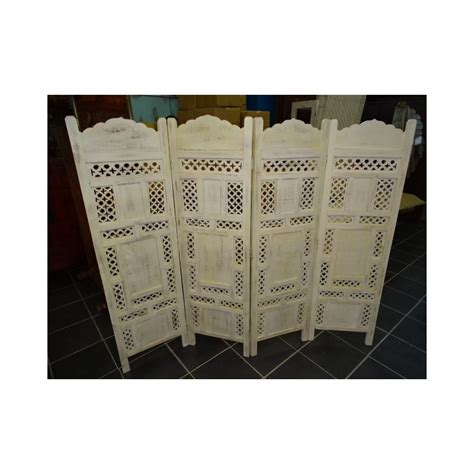 paravent t 234 te de lit unis blanc cass 233 importateur direct