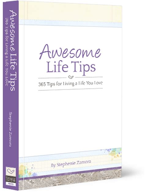 life tips awesome life tips 174 book stephenie zamora
