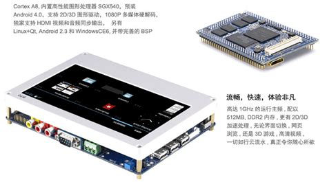 android board tiny210 development board with 7inch touch screen android 4 0 us 220 00 haoyu electronics