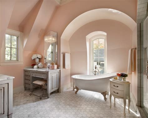 Light Pink Bathroom Beautiful Homes Design Light Pink Bathroom