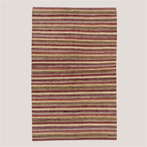 chindi rug world market plum stripe napa chindi rug world market