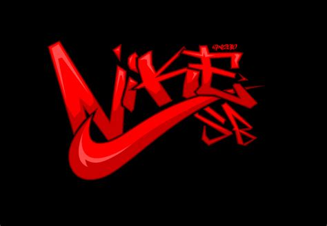 nike sb graffiti logo color by elclon deviantart on