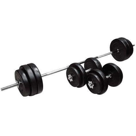 Barbell 3 Kg loading barbell and dumbbell set insportline bs08 3 50 kg insportline