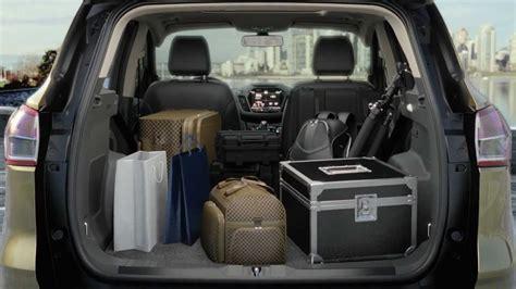 Interior Dimensions Ford Explorer 2013 Ford Kuga Escape Cargo Capacity Capacitate