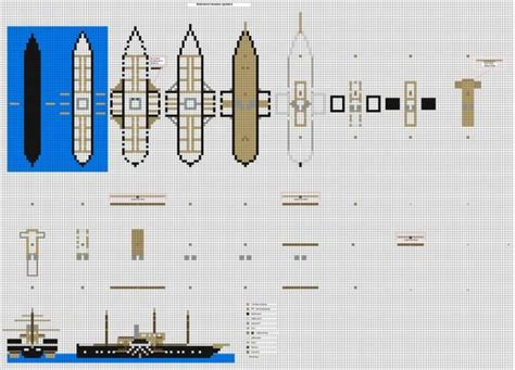 boat plans minecraft minecraft ship blueprints google search minecraft