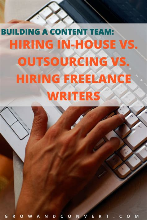 Building a Content Team : Hiring In house vs. Outsourcing