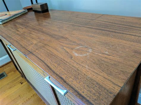 how to stain a table the easy way to remove water stains from wood furniture
