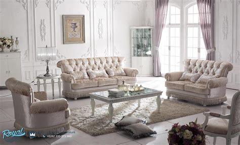 Kursi Tamu Set Sofa Chester Italian Project Mewah Cantik Meja Teras sofa tamu klasik model italia mewah terbaru florence