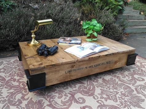 Rustic Pallet Coffee Table Cool Rustic Industrial Styled Pallet Coffee Table Gentlemint