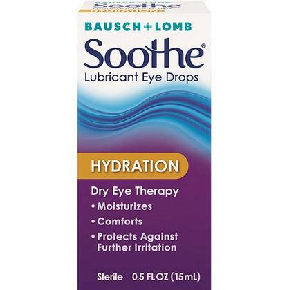hydration drops woah bausch lomb soothe hydration drops 1 99 at rite