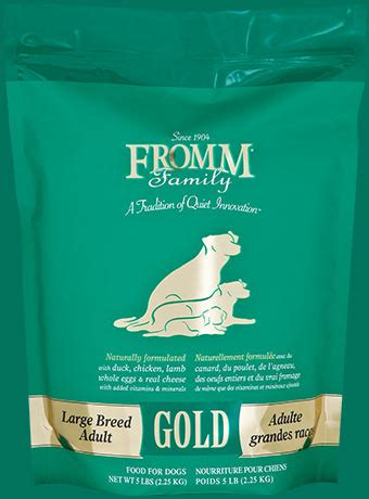 fromm gold large breed puppy fromm gold nutritionals large breed puppy nutrition ftempo