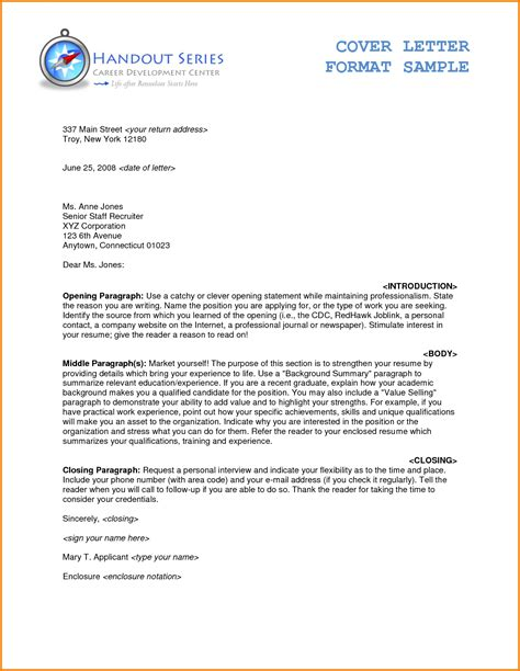 Official Letter Format business letter enclosure best business template cover