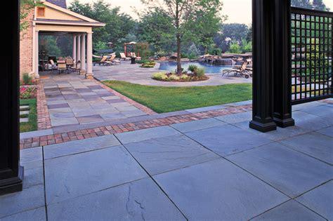 Bluestone Patio Designs Square Patio Designs