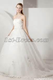 cheap corset wedding dress cheap strapless princess wedding dress with corset 1st