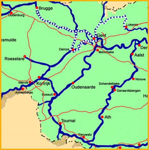 belgium rivers map germany is it possible to travel on river canal from