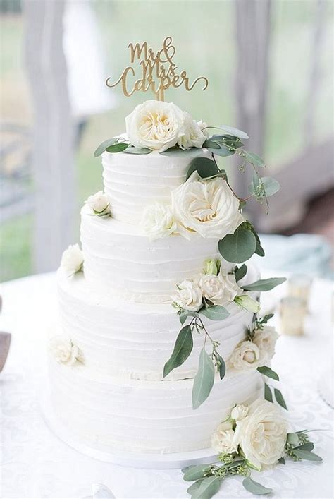 greenery wedding cakes archives   day