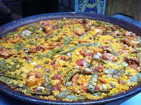 lade a palla paella valenciana recetaspaella es