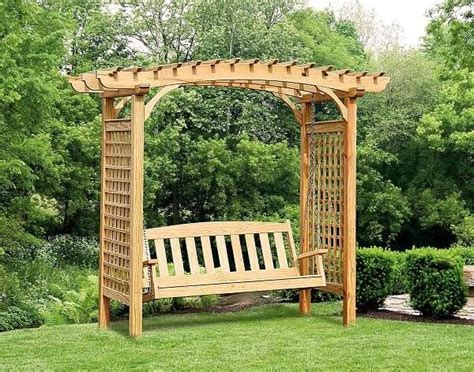 garden arbor swing garden shade structures choose the right one for your