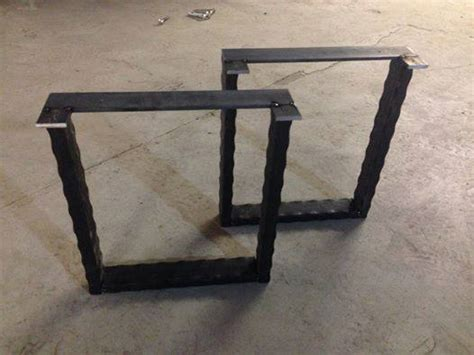 table frames and legs rustic table legs square metal industrial frames custom