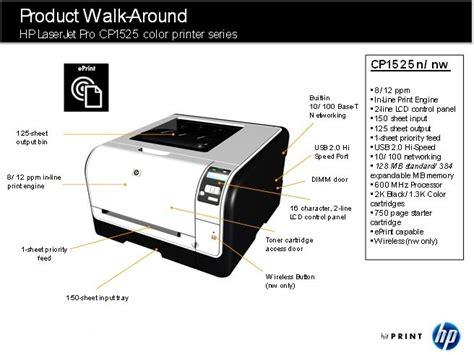 Toner Hp Laserjet Cp1025 Color hp laserjet pro cp1525n colour printer co uk