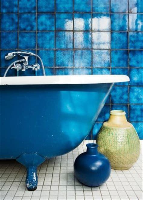 cobalt blue bathroom a bathroom for me ode to blue pinterest blue tiles