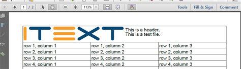 tutorial java itext pdf generation generate pdf from java code that