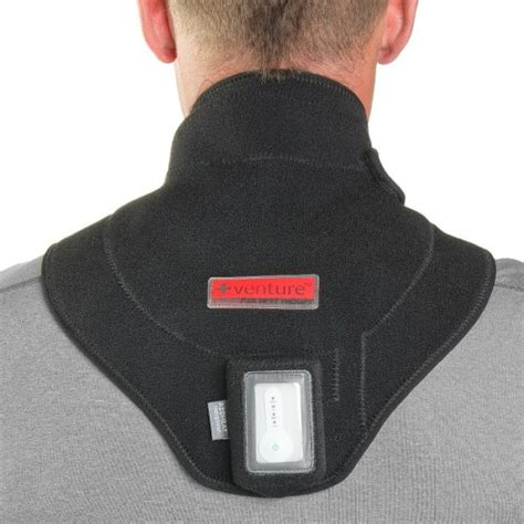 infrared self heating shoulder wrap therapy product code infrared neck heat wrap neck heating pad venture heat