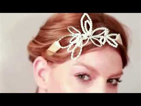 Wedding Hair Accessories How To Make by How To Make Pearl Wedding Hair Accessories