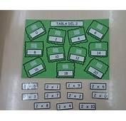 Juego Tablero Para Practicar Las Tablas De Multiplicar