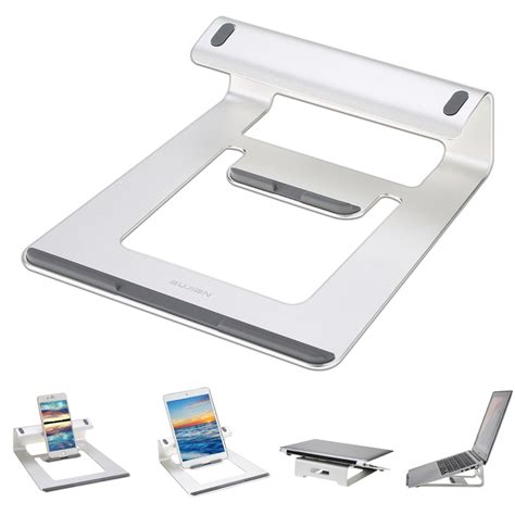 Laptop Holders For Desk Aluminum Laptop Stand Desk Dock Holder Bracket Cooler Cooling Pad For Macbook Pro Air
