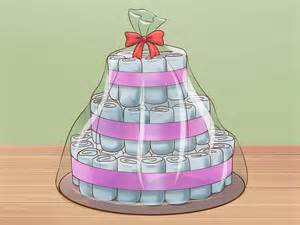 the best ways to make a diaper cake wikihow