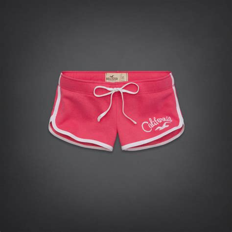 accessories hollister womens mens hollister ireland online hco women athletic shorts pink