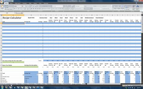 P90x Spreadsheet by P90x Spreadsheet Buff