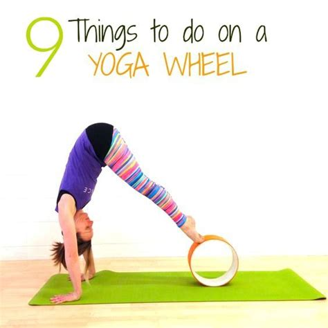 yoga wheel tutorial 35 best images about yoga wheel on pinterest video