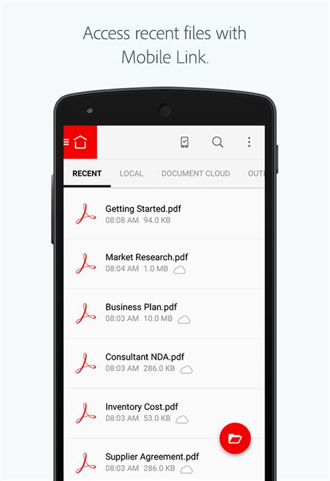 adobe reader for android adobe acrobat reader android apps on play