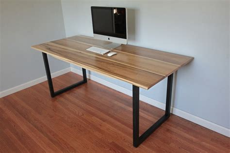minimalist desks minimalist modern industrial office desk or dining table