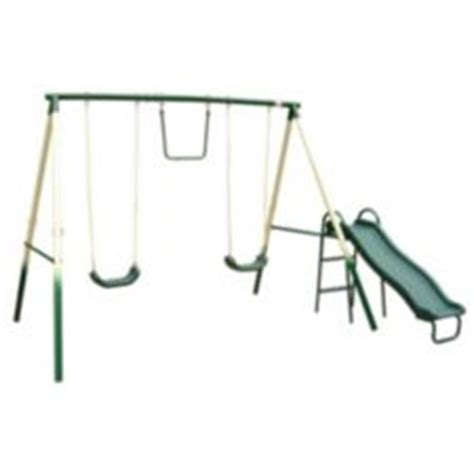 canadian tire swing sets four station metal swing set canadian tire