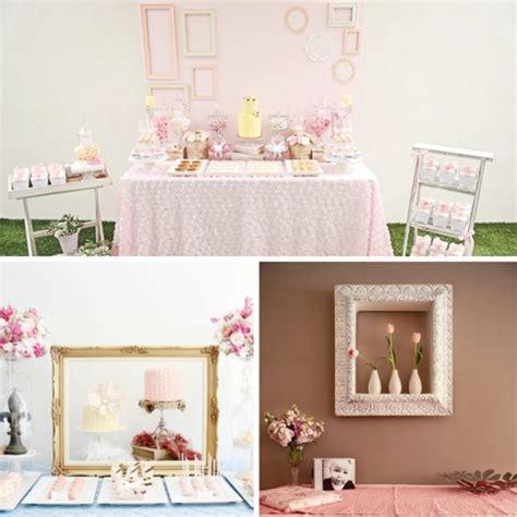 decorar con marcos vacios 10 formas las mejores ideas para decorar el fondo de la mesa de