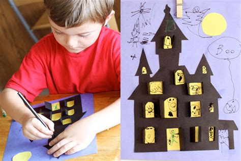 haunted house for kids halloween haunted house crafts for kids pbs parents