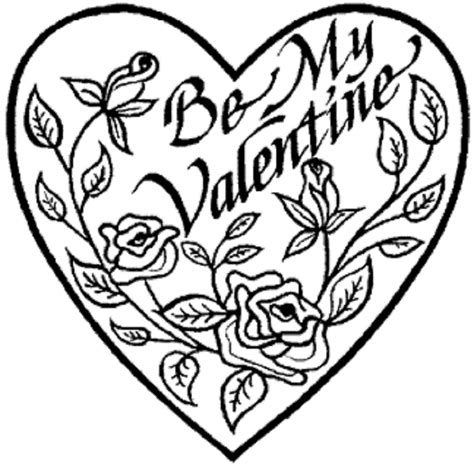 valentines color pages az coloring pages