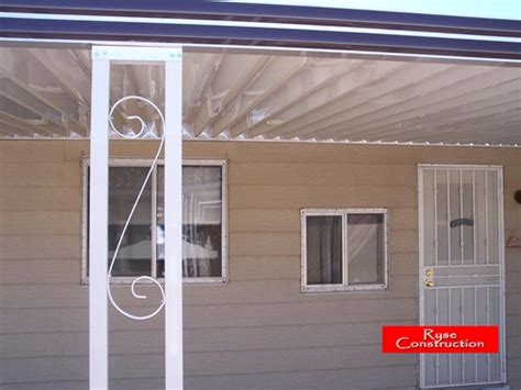 mobile home awning kits patio awning kit carport cover
