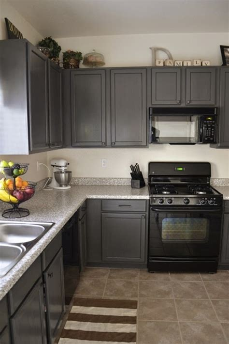 kitchen cabinet and countertop ideas grey kitchen cabinet with ceramic floor and stunning