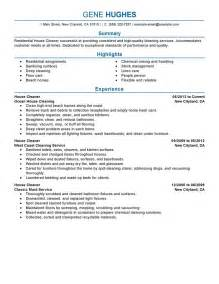House Cleaner Resume Sample house cleaner resume example maintenance amp janitorial sample resumes