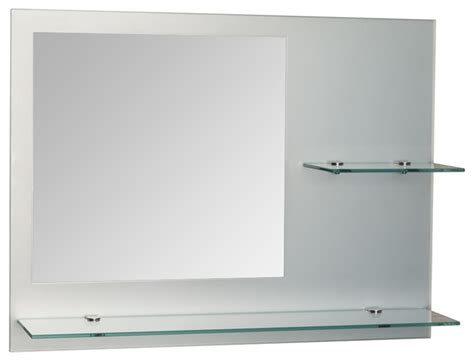 24 bathroom mirror samara 24 x 18 quot frameless bathroom mirror contemporary