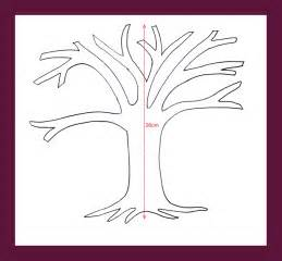 tree trunk with branches template family tree with branches template www imgkid the