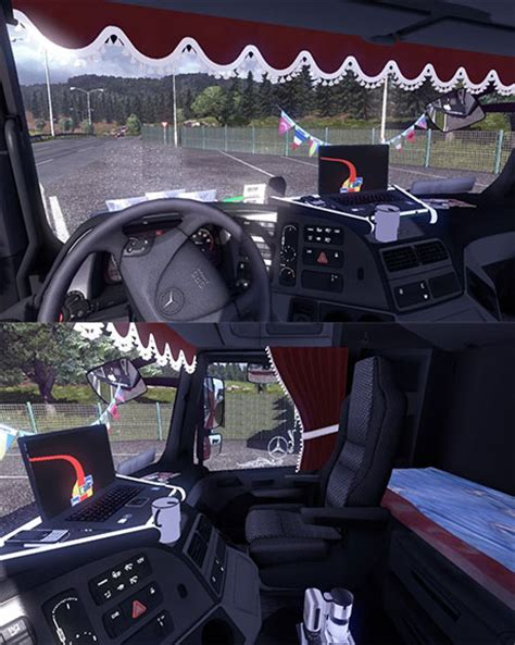 mercedes benz actros interior  accessories etsplanetcom