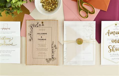 wedding invitation kits with vellum 4 ways to diy vellum wedding invitations cards pockets design idea