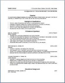 bullet point resume template of the most important