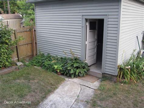 Landscaping Ideas Garage Area Our Small Backyard Makeover Plan 187 Decor Adventures