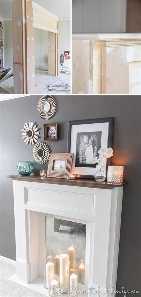 Faux Fireplace Ideas And Projects Decorating Your Small Faux Fireplace Ideas